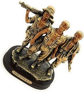 Washington DC Vietnam Veteran Memorial Statue Figurine: The Three Soldiers (7.5