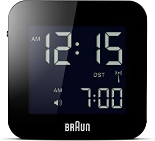 Braun Men's Digital Square Alarm Clock