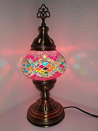 Amazon.es: lamparas bronce - Cristal / Lámparas de mesa y ...
