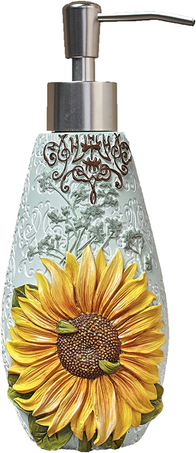 Opening large release sale The Lakeside Collection Sunflower Purchase Soap Pump Lotion or Dispenser