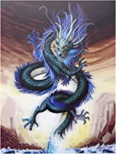 SWcarry 3D Lenticular Picture Poster Artwork Unique Wall Decor Holographic Pictures (Dragon) Without Frame