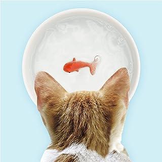 Suck UK Goldfish Dog Or Cat Bowl   Novelty Food & Water Bowl   Cat Food & Dog Food Dish   Ceramic Bowl   Cat Accessories  