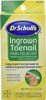 Dr.Scholls Ingrown Toenail Pain Reliever Gel - 0.3 Oz