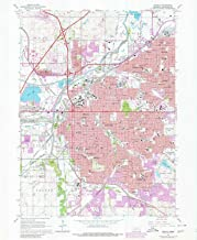 YellowMaps Lincoln NE topo map, 1:24000 Scale, 7.5 X 7.5 Minute, Historical, 1964, Updated 1980, 26.8 x 22 in