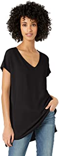 Amazon Brand - Daily Ritual Women's Supersoft Terry Oversized Dolman-Sleeve V-Neck Tunic