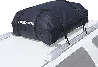 Keeper 07204 Black Premium Waterproof Cargo Bag (15 Cubic Feet)