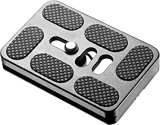 Neewer PU60 Universal Black Quick Release Plate for Tripod Ball Head Compatible with Arca, RRS, Manfrotto, Gitzo, Benro Cl...