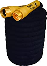 Pocket Hose New Brass Bullet by BulbHead No Kinking or Leaking with Solid Brass Connector, Expandable Lightweight Compact for Easy Storage (100 Feet)