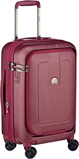 Delsey Paris Grenelle 55 cm 4 Double Wheels Cabin Expandable Carry-On (Hardside) Red (00203980104)