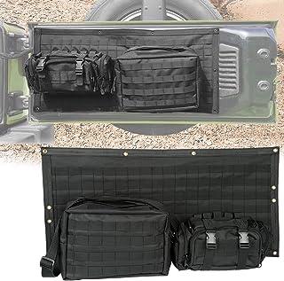 con tasche e organizer DishyKooker Set di 2 sacchi portaoggetti a forma di gabbia