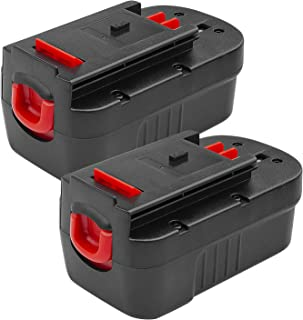 2Pack 18V 3.6Ah HPB18-OPE Replacement Battery for Black and Decker 18 Volt Battery HPB18 244760-00 A1718 FSB18 FS18FL Fire...