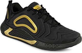 Camfoot Men's (9352) Black Casual Sports Running Shoes