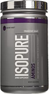 Isopure Amino Supplement, Cranberry Grape, 285 Gram by Isopure