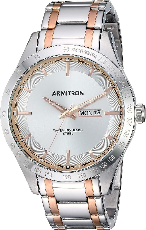 Armitron Men's Day Date OUTLET SALE Function 5174 20 2020秋冬新作 Watch Bracelet