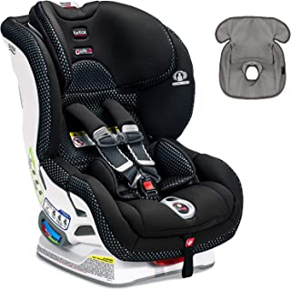 Britax Boulevard ClickTight Convertible Car Seat with Free Waterproof Seat Liner (Cool Flow - Grey)