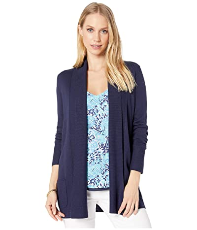 Lilly Pulitzer Adaira Cardigan (True Navy) Women