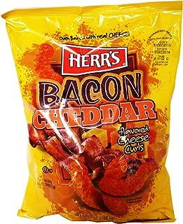Herr's Bacon Cheddar Cheese Curls 184.3g