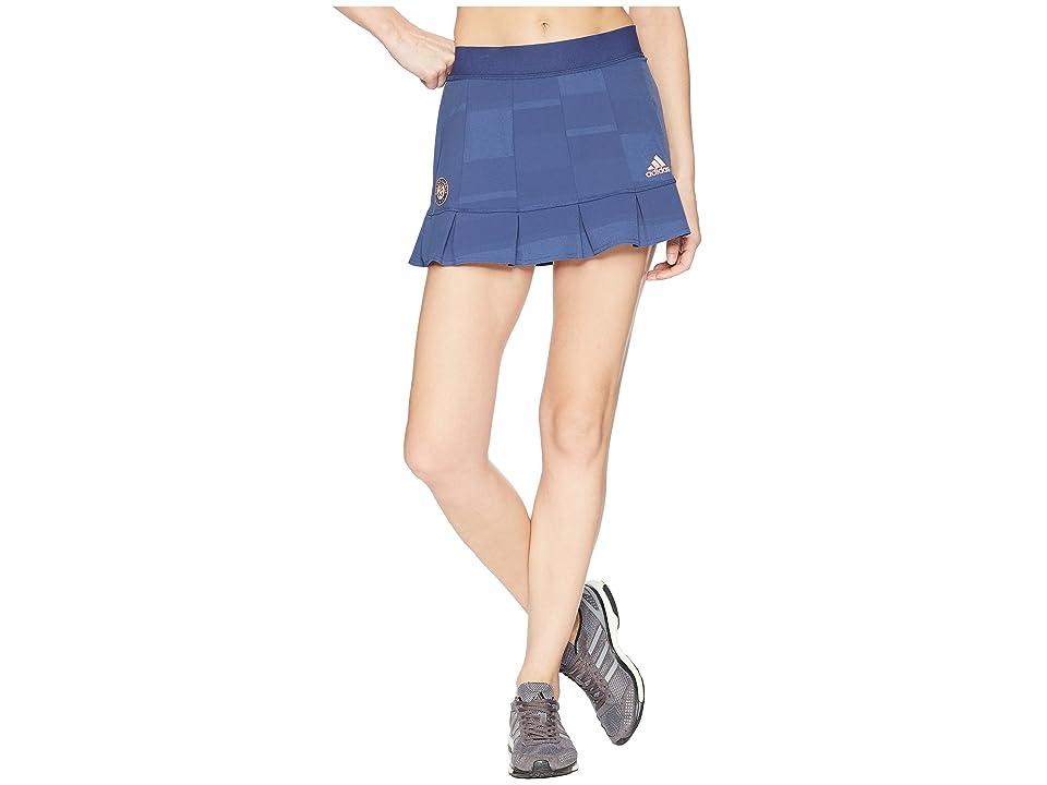adidas Roland Garros Skirt (Noble Indigo) Women