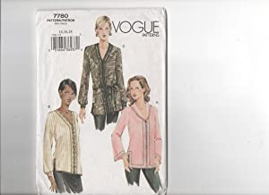 vogue blouse sewing patterns