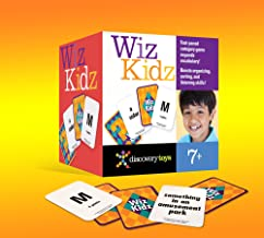 WIZ Kidz Categories Family Card Game in Travel Box by Discovery Toys