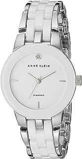 Anne Klein AK/N1611WTSV Analog Quartz White Watch