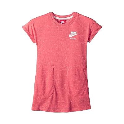Nike Kids Gym Vintage Short Sleeve Dress (Little Kids) (Sea Coral) Girl