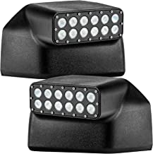 ORACLE F150 Peripheral LED Off Road Mirrors/Raptor Truck LED Side Mirrors with Angled Light for Visibility (Compatible with Ford F150 and Raptor 2015-2019 Models)