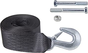 Goldenrod Dutton-Lainson 6248 15-ft Winch Strap with Hook 4000 lb