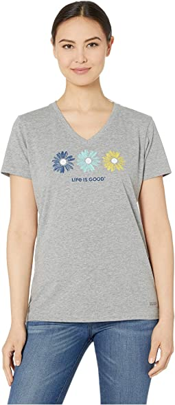 a9592648 Life is good father mows best crusher tee | Shipped Free at Zappos