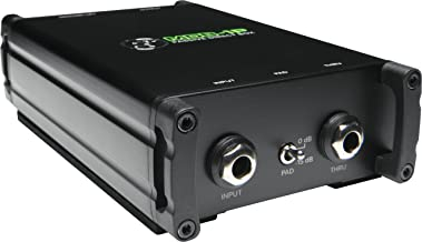 """Mackie MDB Series, Passive Direct Box with 1/4"""" High-Impedance Input with Thru Output and Ground Lift (MDB-1P)"""
