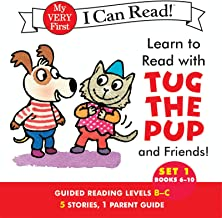 Learn to Read with Tug the Pup and Friends! Set 1: Books 6-10 (My Very First I Can Read)