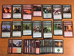 Elite Red Green Aggro Deck - Modern Legal - Custom Built - Magic The Gathering - MTG - 60 Card