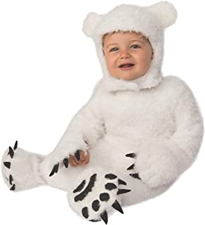 White Polar Bear Cub Baby Costume