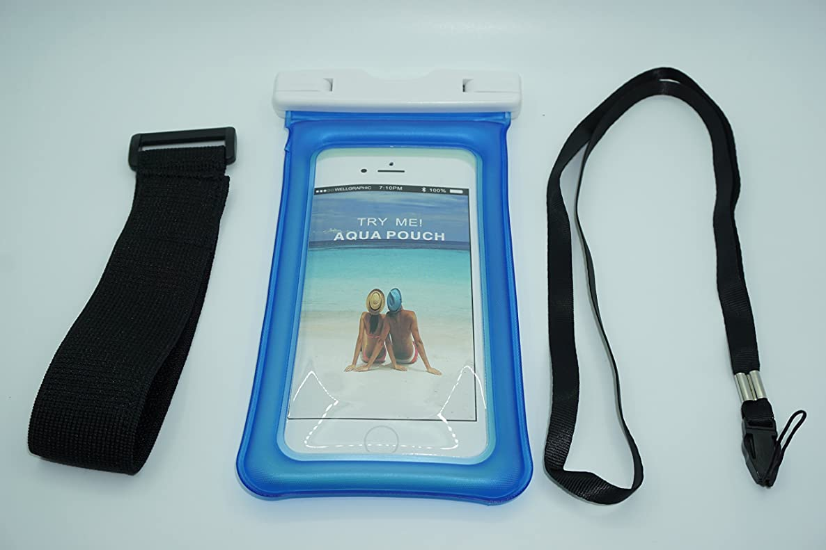 Premium Waterproof Pouch Set | Float in Water | Comes with Armband & Strap dbvskzsufvowwoev