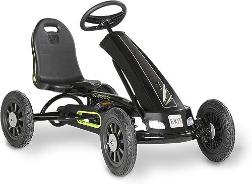 Todos los productos obtienen hasta un 34% de descuento. EXIT Cheetah Pedal Go-Kart - Juguetes de de de Montar (Pedal, Go Kart, 5 año(s), 4 Rueda(s), negro, Niño niña)  tienda de bajo costo
