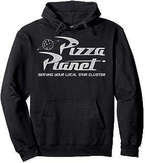 Disney Pixar Toy Story Pizza Planet Distressed Logo Sweat à Capuche