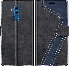 MOBESV Custodia Huawei Mate 20 Lite, Cover a Libro Huawei Mate20 Lite, Custodia in Pelle Huawei Mate 20 Lite Magnetica Cover per Huawei Mate 20 Lite, Elegante Nero