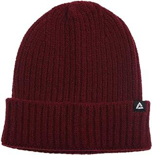 JONVER محبوك مضلع قبعة لينة الشتاء قبعات للنساء الرجال للجنسين كاب