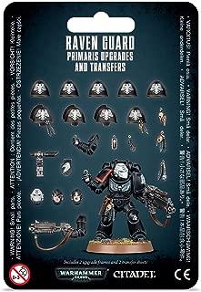 Games Workshop 40,000: Raven Guard PRIMARIS Upgrades & TRANSFRS