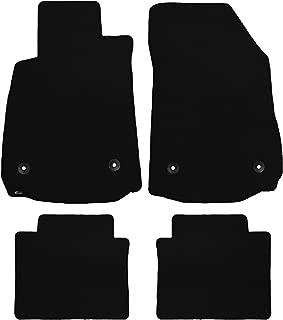 Brightt (MAT-YOF-092-ULT) 4 Pc Car Floor Mat Set - Black Classic Carpet - Compatible With 1969-1974 Nova (1969 1970 1971 1972 1973 1974 | 69 70 71 72 73 74)