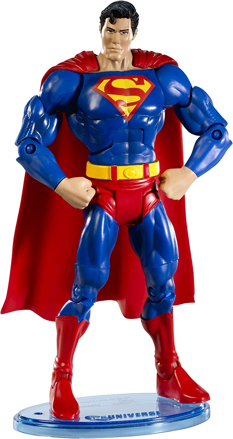 DC Universe Max 60% OFF Classic Superman with latest Figure Button Collector