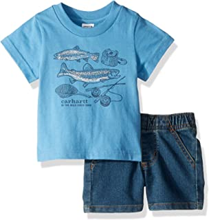 Carhartt Baby Boys 2-Piece Short Clothing Set