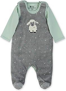 Einteiler Unterhemden 3er-Pack kavkas Baby-Strampler 0-24 Monate kurz/ärmelig weiche Baumwolle