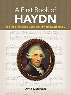 A First Book of Haydn: for the Beginning Pianist with Downlo