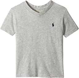 Cotton Jersey V-Neck T-Shirt (Toddler)