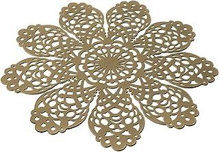 SPOT04 - Salva-Sartenes de Silicona, Color Beige. Dimension Ø 40 cm