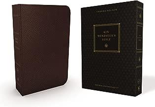KJV, Minister's Bible, Leathersoft, Brown, Comfort Print: Holy Bible, King James Version
