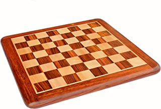 StonKraft Wooden Chess Board Without Pieces for Professional Chess Players - Appropriate Wooden & Brass Chess Pieces Chess...