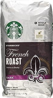Starbucks French Roast Dark Whole Bean Coffee - 2 - 40 Oz Pack