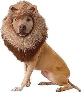 Animal Planet Lion Dog Plush Mane Headpiece Outfit Halloween Pet Costume